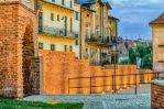 the old town evening by marrciano