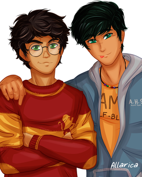 Harry and Percy by allarica