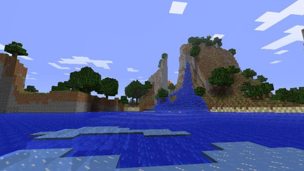 Minecraft Epic Waterfall 2 by Jhumperdink