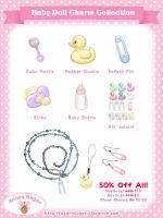 Baby Doll Charms Return 50% Off! by Mirelmture