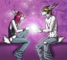 The gift by SilverCoils