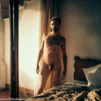 male nude in Taxco Hotel by TheMaleNudeStock