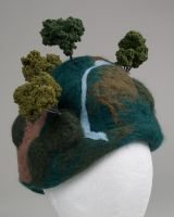 Tree Hat, closer view by pink-porcupine