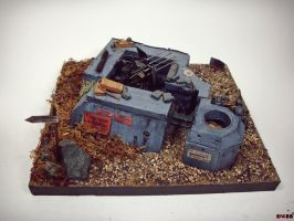 1/35 Flak Emplacement 2.0 by enc86