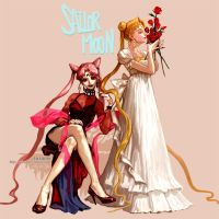 Two princess _ 2013 by pt0317
