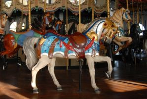 merry go horse by HoldFastStock