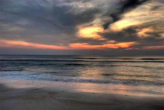 Daytona Beach Sunrise 3 by Art-Photo
