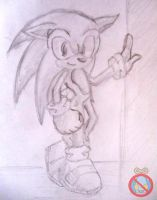 Sonic the hedgehog sketch by shadowhatesomochao