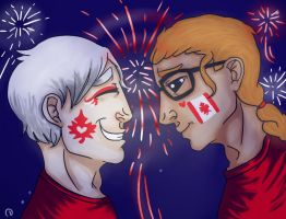 Happy Canada Day, Mattie! by CamaelTheAngel