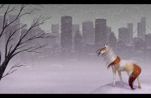 - THE CITY - by Lilafly