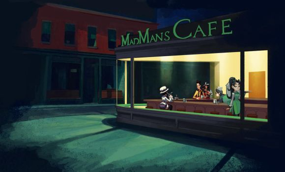 Madman's Nighthawks by oh8