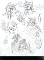 Meta Sketches by CyberHorse10