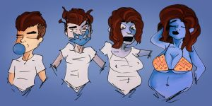 Rounder - Blueberry TF/TG by Grumpy-TG