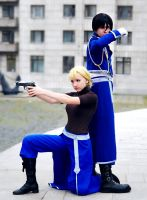 Riza and Roy 2 by Haruhi-tyan