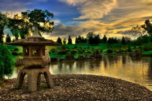 japanese garden HDR version by willy4393