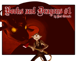Books and Dragons #1 cover by davi-escorsin