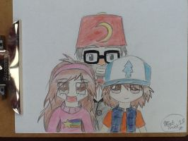 Gravity Falls- The Pines Family by MintFrost12
