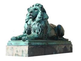 Lion Stature Stock 002 by BLACKNIGHTINGALE81