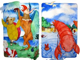 The Lobster Quadrille by MJ-green