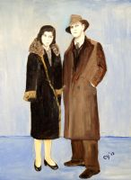 My Parents in 1926 by CarolynYM
