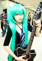 Hatsune Miku by YvonneCaryl