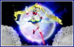 Super Sailor Moon (Wallpaper 05) by TRXNALARA