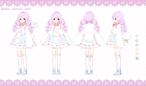 Yukine Ref Sheet by Madinne