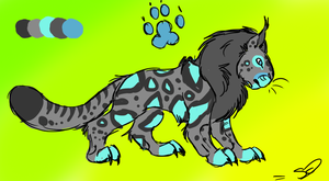 Big cat adopt :SOLD: by WolfxTracks