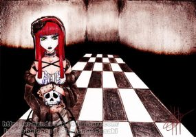 + Gothic Girl + by fer-nanda-ssk