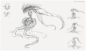 Creature Sketch_003 by Koiless-Artwork