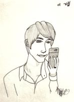 KiSeop selca drawing by ParkAL