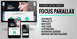 Focus Parallax - UNIQUE One Page HTML Template by bobby-digitals
