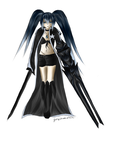 Ready to fight - Black Rock Shooter by GirlofSmokeandFire
