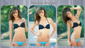 Malena Morgan Wallpaper 1920x1080 by Nesper25