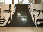 BREAKING BAD Graffiti Portrait by LuckyDemonArt