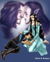 Aragorn and Arwen by idolwild