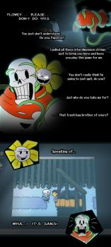 Papyrus Plays A Game (Part 1) by Whimsy-Floof