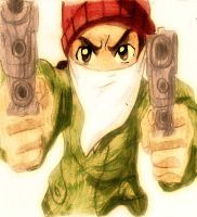 riLey from the boondocks by Cystal-The-Wolf