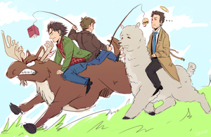 Team Free Will by Sydsir