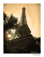 Eiffel Tower - sepia by SeiMissTake