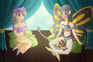 Arabian Girls by Glitter-Stitch