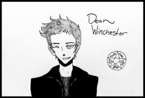 Supernatural: Dean Winchester by TrainerHarmony