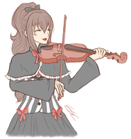 Miss Violinist by ESCanime