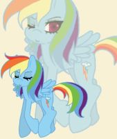 Dashie the flirt by anakichi