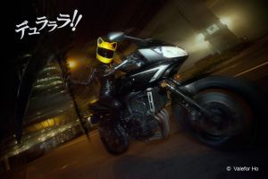 DRRR IV - Celty Dark Rider by ValeforHo