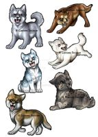 Ginga magnets for sale! by Linzu