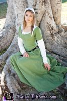 Green Kirtle by DaisyViktoria
