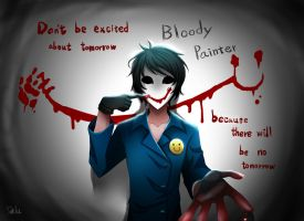 Bloody Painter by DeluCat
