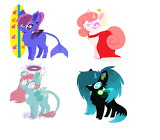 Mixed Breed Adopts {OTA} OPEN AB Added! by SapphireAdoptz