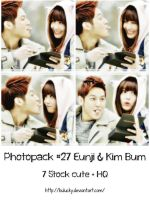 PHOTOPACK #27 EUNJI and KIM BUM by BuLucky
